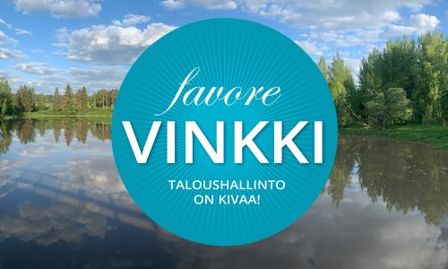 Favoren Vinkki – Taloushallinto on kivaa!